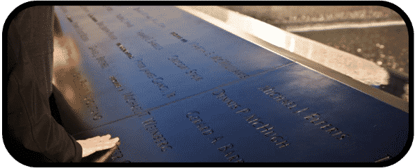 9/11 – A Moment to Remember… A Time We'll Never Forget.