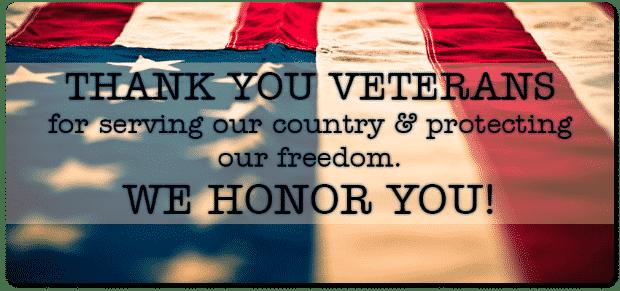 101 Ways to Thank A Veteran – Veteran's Day 2014