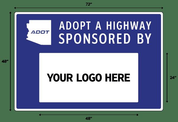 Adopt A Highway Sign Arizona