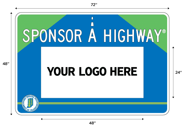 Sponsor A Highway Sign Indiana