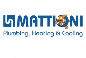 mattioni plumbing heating and cooling logo